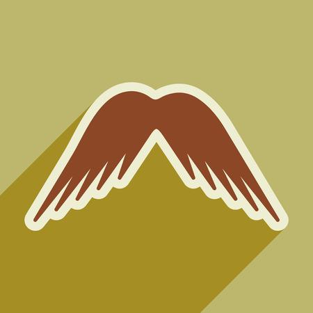 alas de angel: alas elegantes de un �guila Vectores