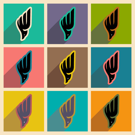 soaring: Collection soaring eagle logo