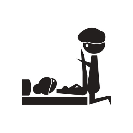 sex positions: Flat icon in black and  white Kamasutra positions