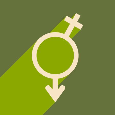 Gender Equality icon. Stock Illustratie