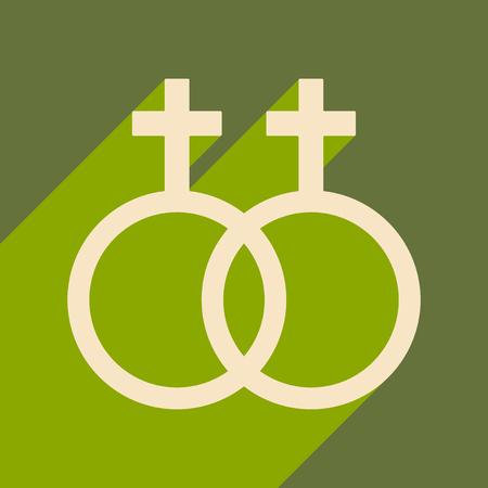 Gender equality illustration.