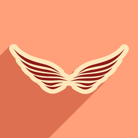 stylish wings of an eagle Illustration