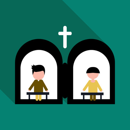 Confession of the Holy Father Illustration