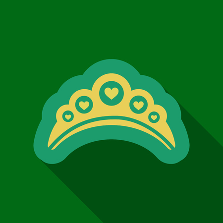 Golden Crown Vector Illustration