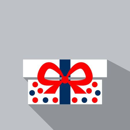 Present box gift in pack christmas box