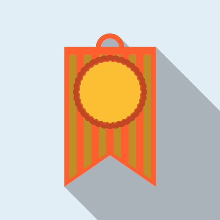 Pennant with circle Illustration