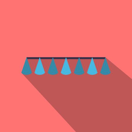 ribbon with cap Illustration