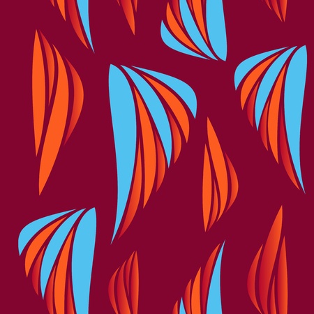 Collection of swatches memphis patterns - seamless. Retro fashion style 80-90s. Abstract patters for wall Illustration