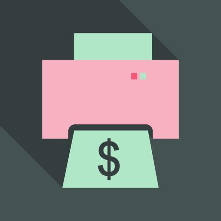 Money printing machine, Business idea
