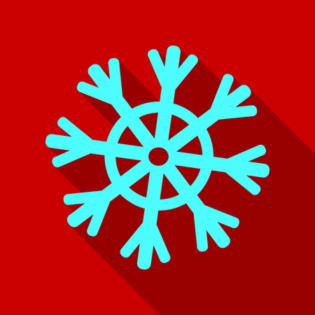 Snowflake Icon. Snowflake vector. . Winter snowflake. Illustration