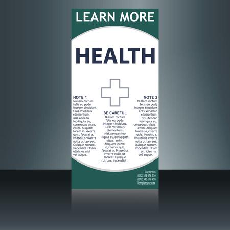 medical brochure flyer design template a4 size medical brochure