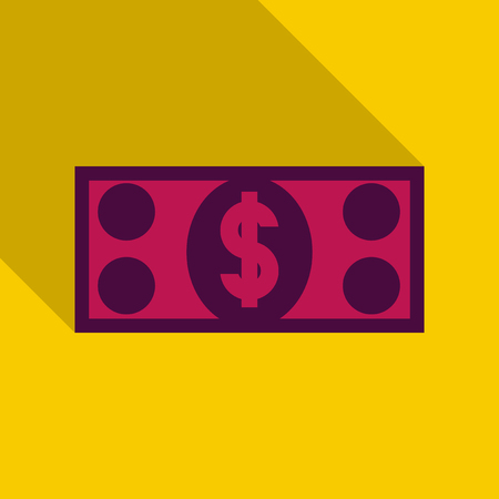 100 50 ,Dollar Banknotes. Suitable for discount cards, leaflet, coupon, flyer, vouchers. Vector, flat style. American money