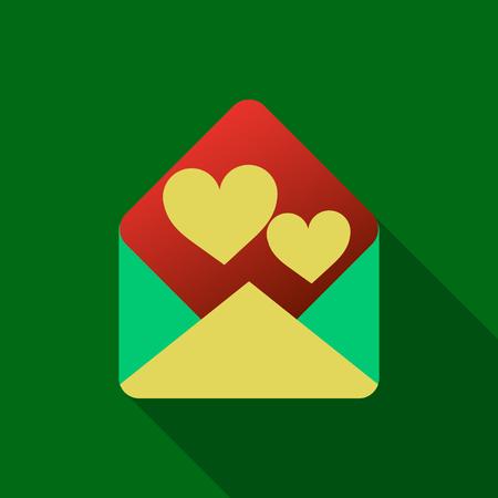 love letter icon Stock Illustratie
