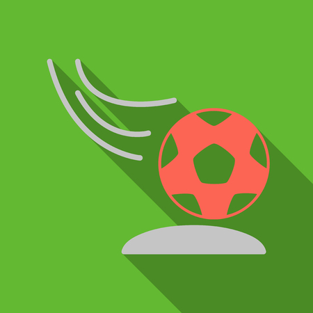 Soccer ball icon. Soccer ball Vector isolated on background. Flat vector illustration in EPS 10
