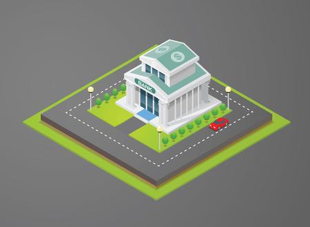 bank: isometric bank