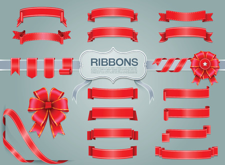 ribbons: ribbons Illustration