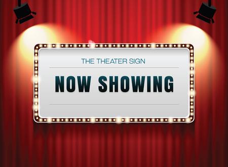cortinas rojas: signo de teatro en la cortina