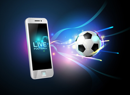 mobile app: mobile football and mobile phone
