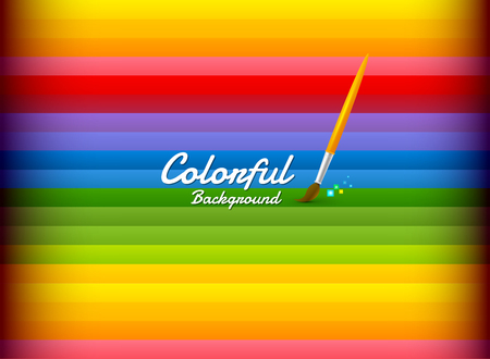 colorful background Çizim