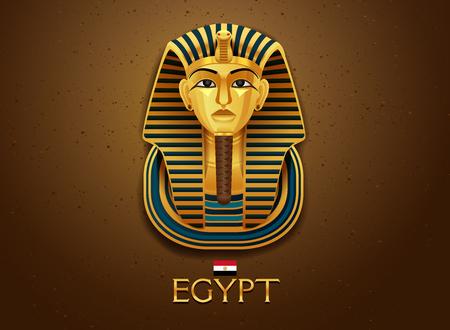 egypt pharaoh vecter illustration