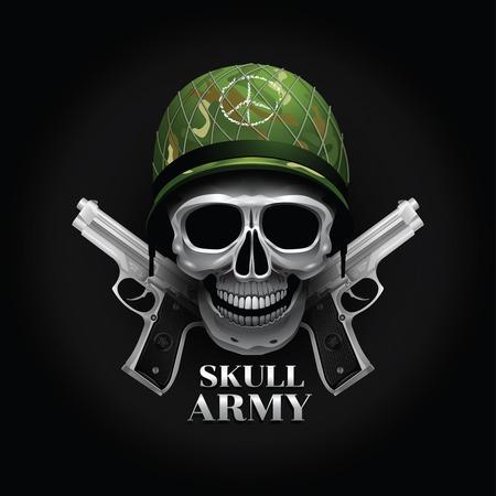 skull logo soldier