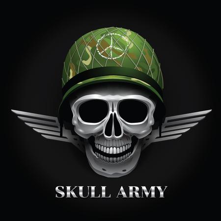 skull vector object  logo 向量圖像