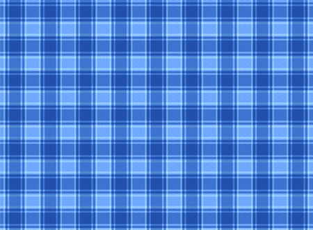 Plaid blue vector cloth texture