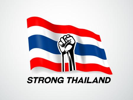 thailand flag,thai, strong thailand