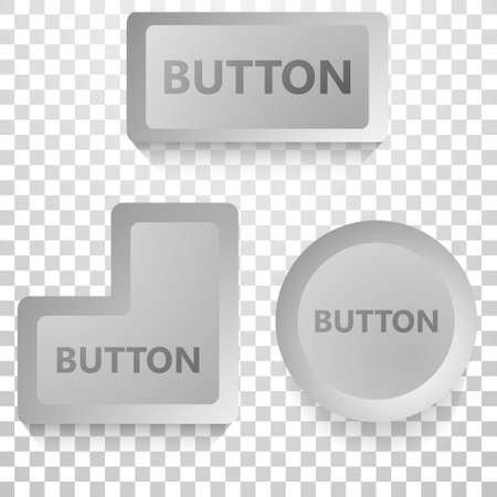 vector buttons for computer