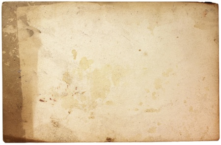Grungy old rusty paper texture. Suitable for an abstract background. photo