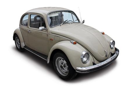 escarabajo: Coche peque�o de ancianos justo despu�s de una ducha de lluvia.