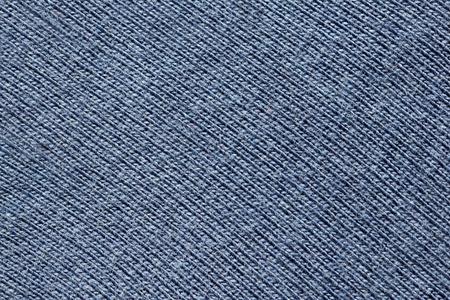 knitten: Close up view of dark blue knitten fabric texture. Abstract background.