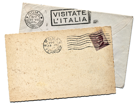 ITALY - CIRCA 1940  a stamp printed by ITALY shows image portrait of King Victor Emmanuel III, circa 1940