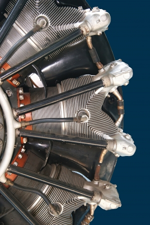 Airplane radial engine Stock Photo - 16859228