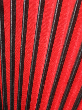 Bellows of accordion, red and black, background concept photo