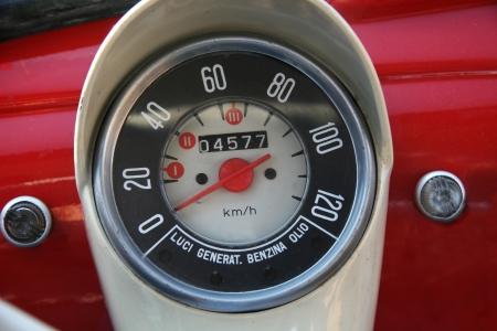 Oldtimer small dashboard