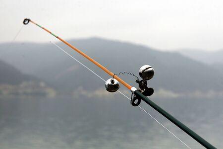Fishing rod bells Stock Photo - 17119695