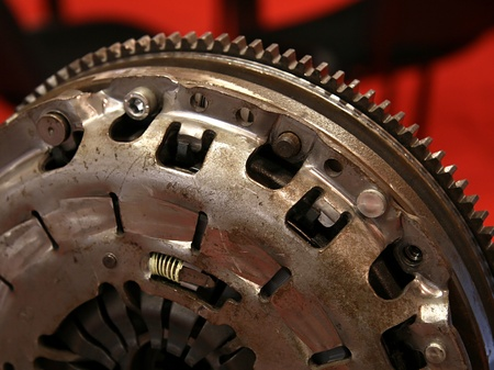 Clutch part ready for gearbox close up Stock Photo - 17132022