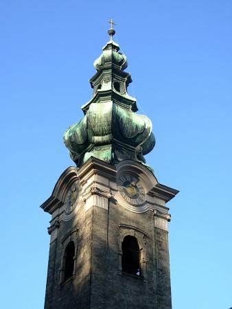 belfry: Old hurch belfry