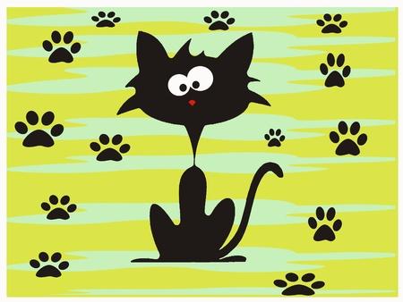 crazy cute: Crazy cat traces