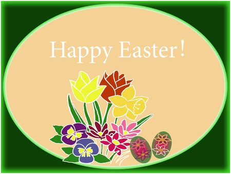 Spring easter background Stock Photo - 17235602