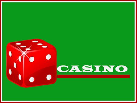 Casino dices invitation photo