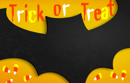 Bat - Trick or treat Stock Photo - 17254794