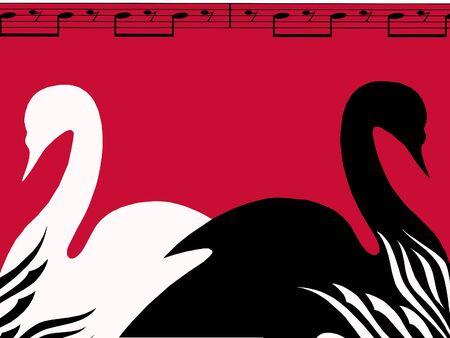 swan lake: Swan lake poster