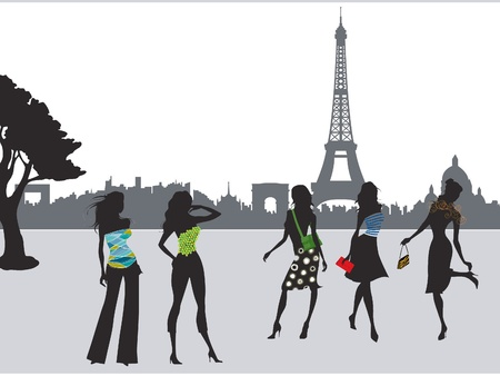 frenchwoman: Paris fashion girls