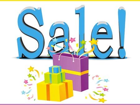 Sale card concept Stock Photo - 17339042