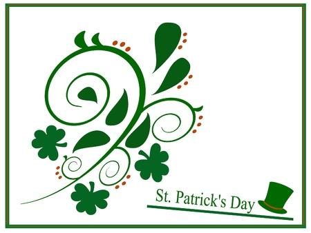 Saint Patrick Day shape,seasonal event