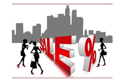 City sale discount Stock Photo - 17597243