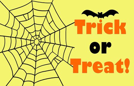 spider net: Trick or treat with spider net