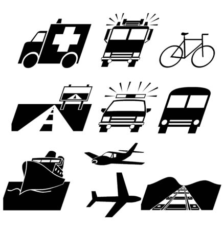 Traffic symbol Stock Photo - 17602904